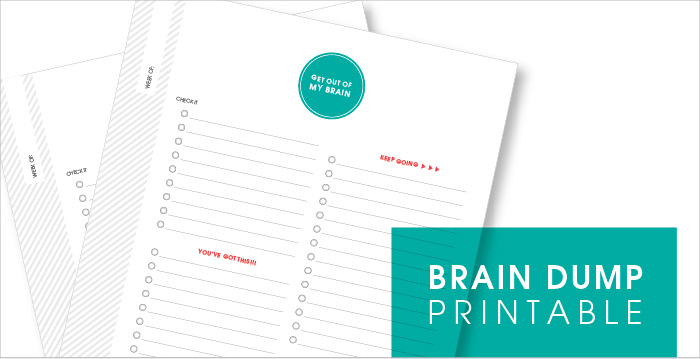 image about Brain Dump Printable called Mind Dump Printable - Idieh Style and design