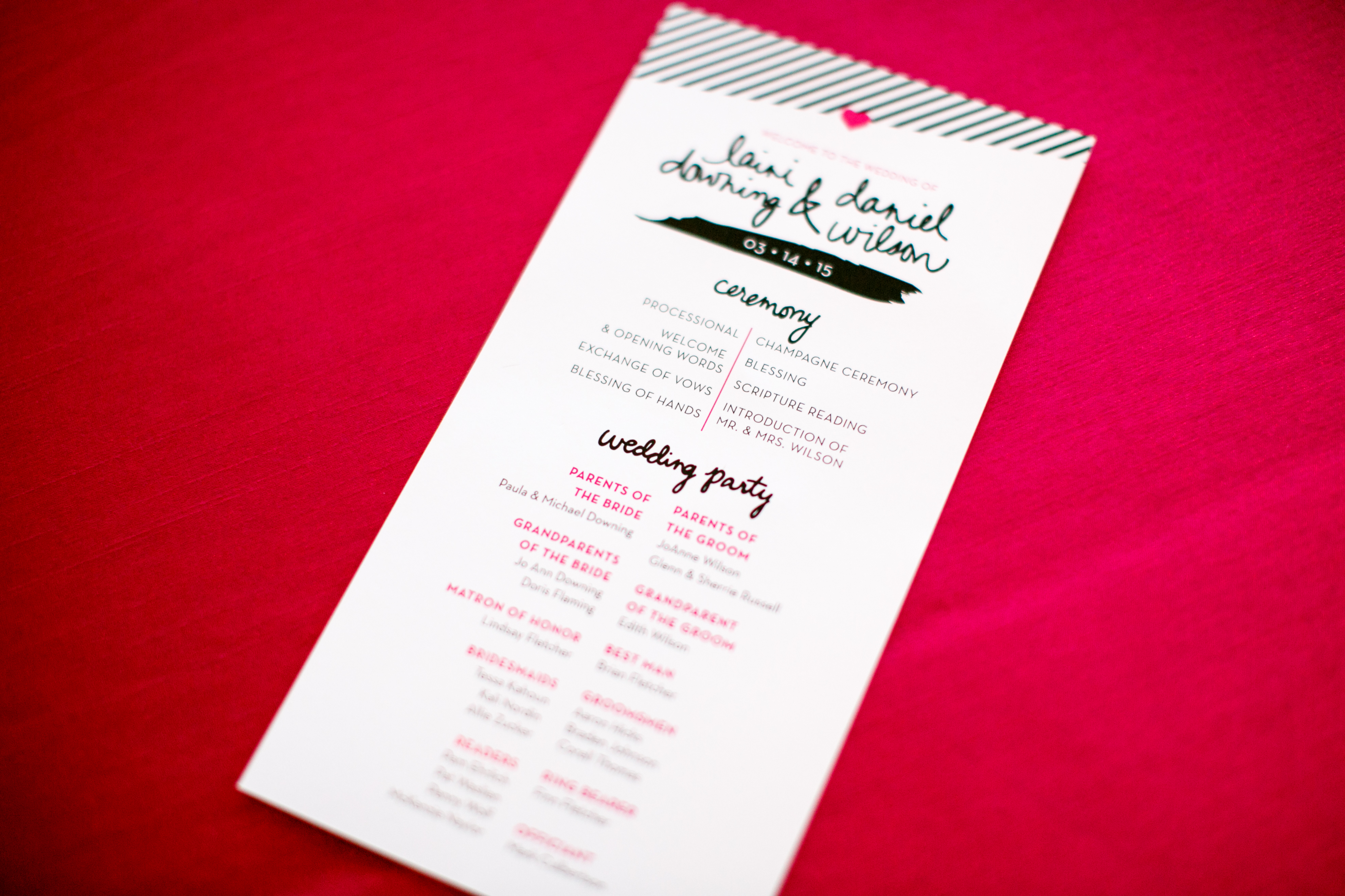Bright Playful Wedding Stationery | Phoenix, Ariz.
