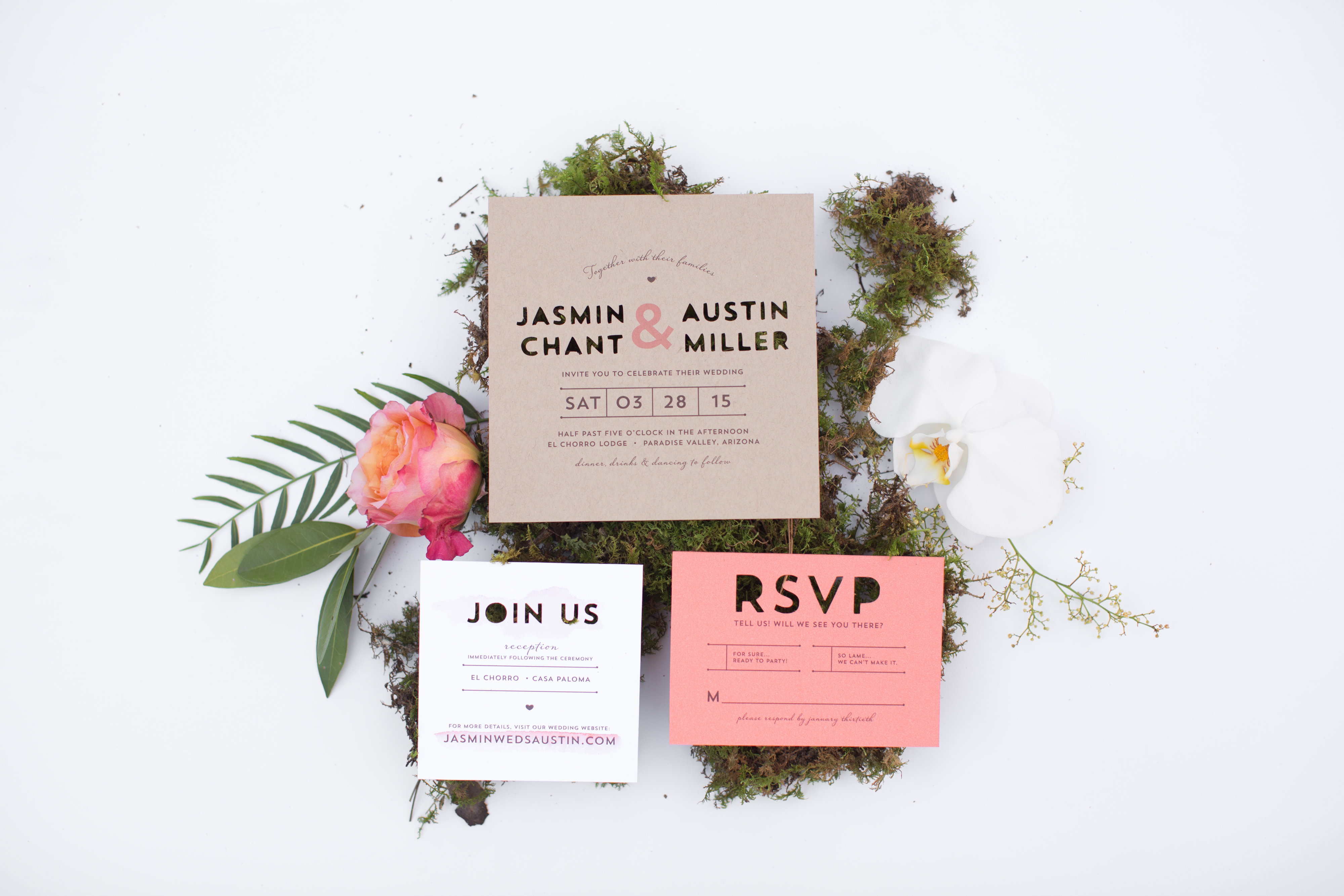 Rustic Romantic Wedding Stationery