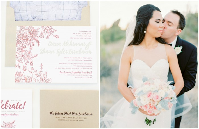 Travel Inspired Wedding Stationery