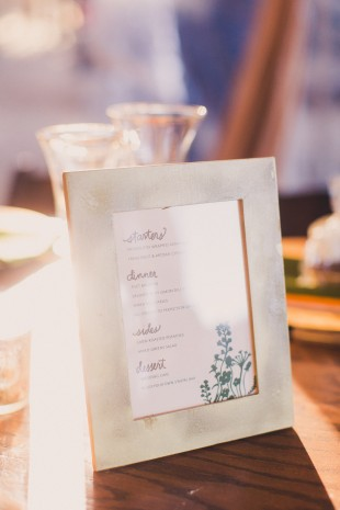 Letterpress Wedding in the Woods