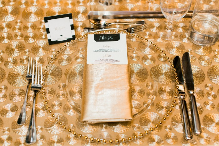Classically Gilded Wedding Stationery