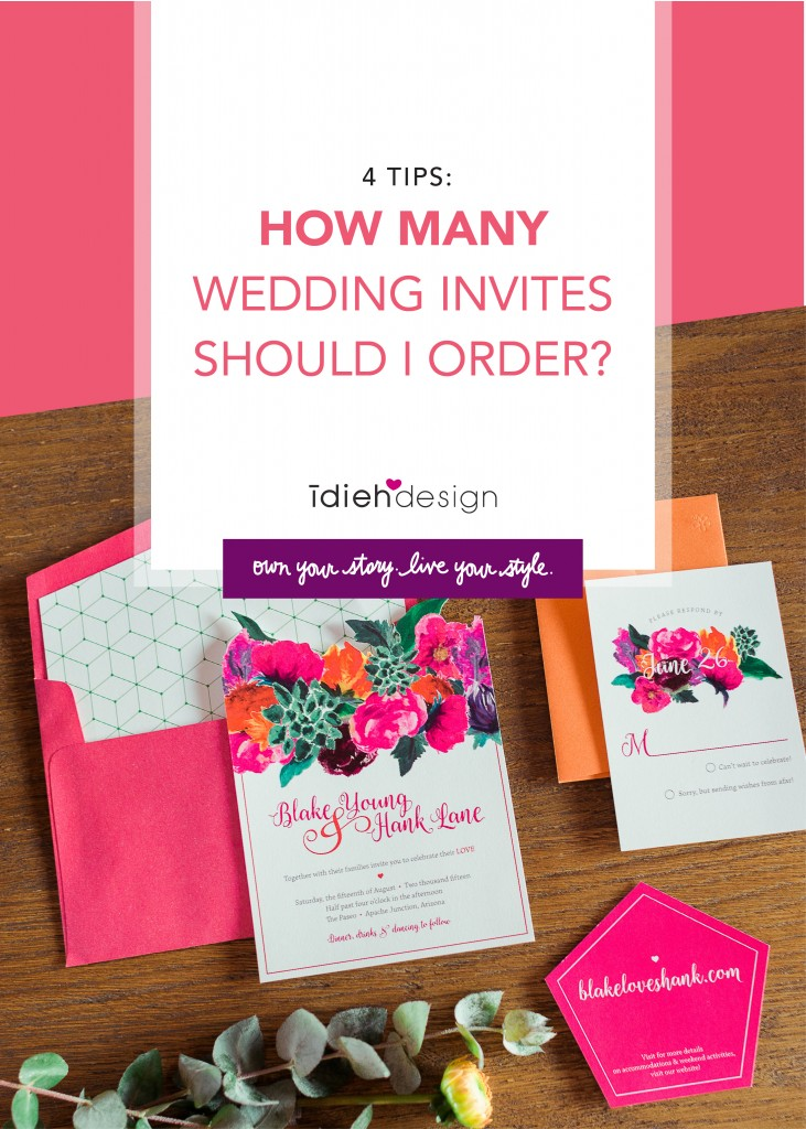 How Many Wedding Invites Should I Order?