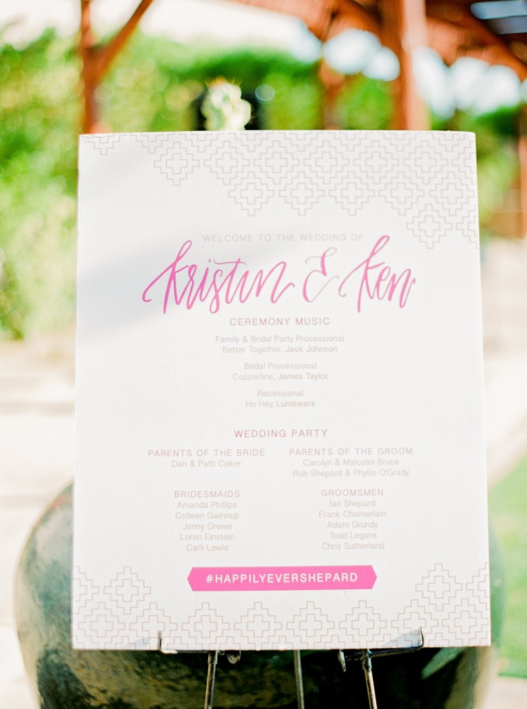 Vibrant Geometric Wedding Stationery