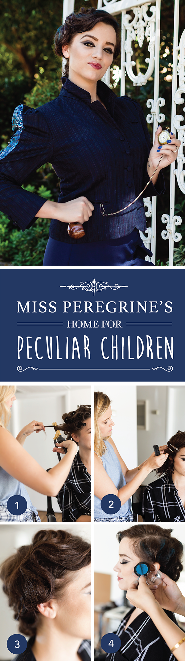 Halloween Makeup & Costume | Miss Peregrine