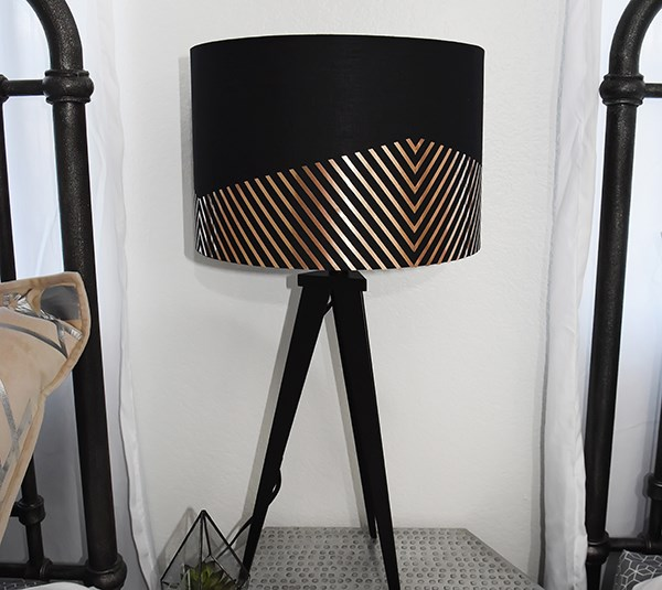 LampDecal DIY room makeover