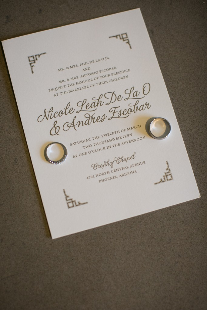 Modern Romantic Wedding Stationery