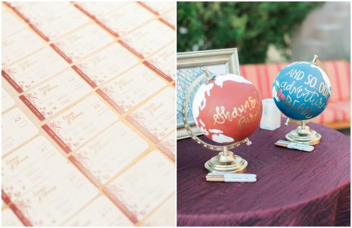 Travel Inspired Wedding Stationery